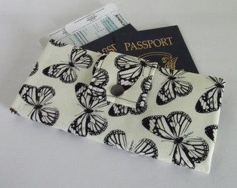 Dollbirdies Boarding Pass Passport Wallet