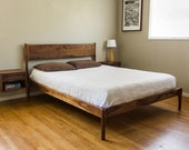 Classic Modern Bed (Danish Mid Century Modern Style Bed)