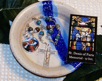 NEW! Unbreakable Catholic Chaplet of St. Denis of Paris - Patron Saint Against Headaches and Rabies
