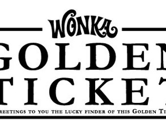Digital File: Generic Gold Ticket