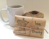 Reserved. Coffee wedding favors. Freshly roasted. Unique. Set of 32.