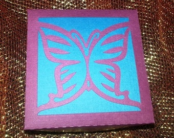 DIY three piece butterfly box set of three