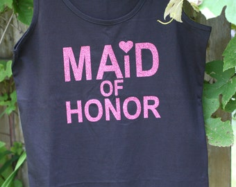 Ladies Fit Tank Top - Personalized just for you- Mrs, Soon to Be, Future Mrs, Bride, Mom, Dance, Cheer GREAT GIFT