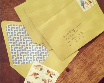 FULFILLMENT for 25 invitations - addressing, stamping, stuffing and mailing!