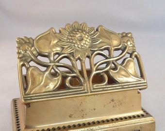 Brass Stamp Box