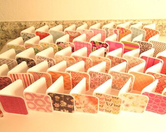 MINI NOTES - 3x3 Variety Pack of 50 Rounded Corner folded cards, Gift Tags, Thank You, Thanks for Your Order