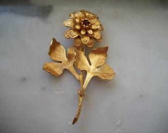 Vendome Flower Brooch Pin