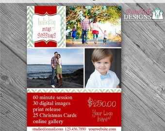 INSTANT DOWNLOAD - Believe Marketing Board 5- custom 5x7 photo template
