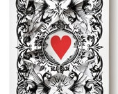 """Lonely Heart """"Archangels by Theory11"""" / altered playing card decks"""