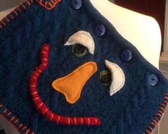 Recycled Wool Cardigan IPad/Kindle Sweater Sleeve