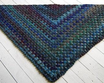 Crochet Pattern Noro Silk Garden Granny Shawl Crochet PDF