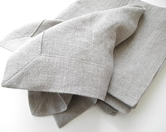 "Linen Napkin, 20""X 20"" Cloth Napkins,  Modern Dinner Napkin, Table Napkins, Flax Linen"