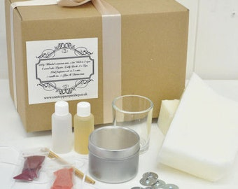 LARGE Container candle making kit