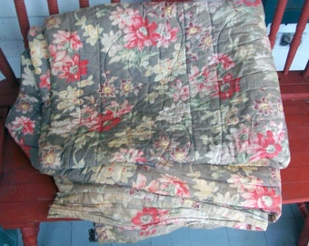 Antique French Quilt 1800s
