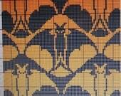 Halloween Bats Instant Download Pattern