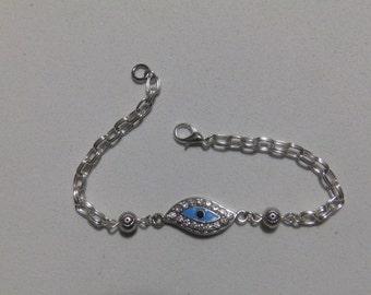 Evil Eye Protection Bracelet Wicca Pagan Rituals Spirituality Ceremonies