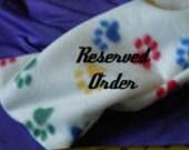 """Special Order 1, 4 1/2"""" Antler Tip for Crafts  """"F"""" for Debbi"""