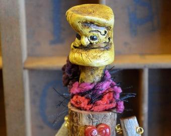 Faerie Art Doll Woodland Guardian