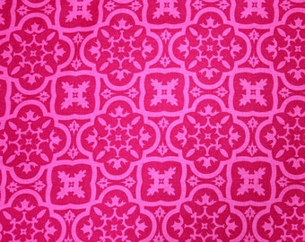 GORGEOUS! Patty Young Andalucia in Hot Pink Cotton Fabric Perfect For Baby Girl