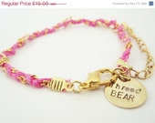 50% OFF Chain Bracelet in Fuchsia
