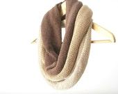 Statement cotton cowl big necklace neckwarmer - Spring Summer Fall