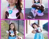Custom Boutique Clothing My  Inspired little Sheriff Callie inspired Sassy Girl Dress