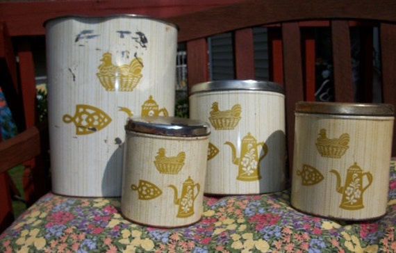 Vintage very cool decoware usa metal wastebasket by sunflowermom - Cool wastebaskets ...