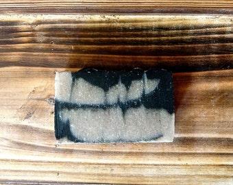 Charcoal Soap. Detoxifying. Rhassoul Clay. Acne. Oily Skin.
