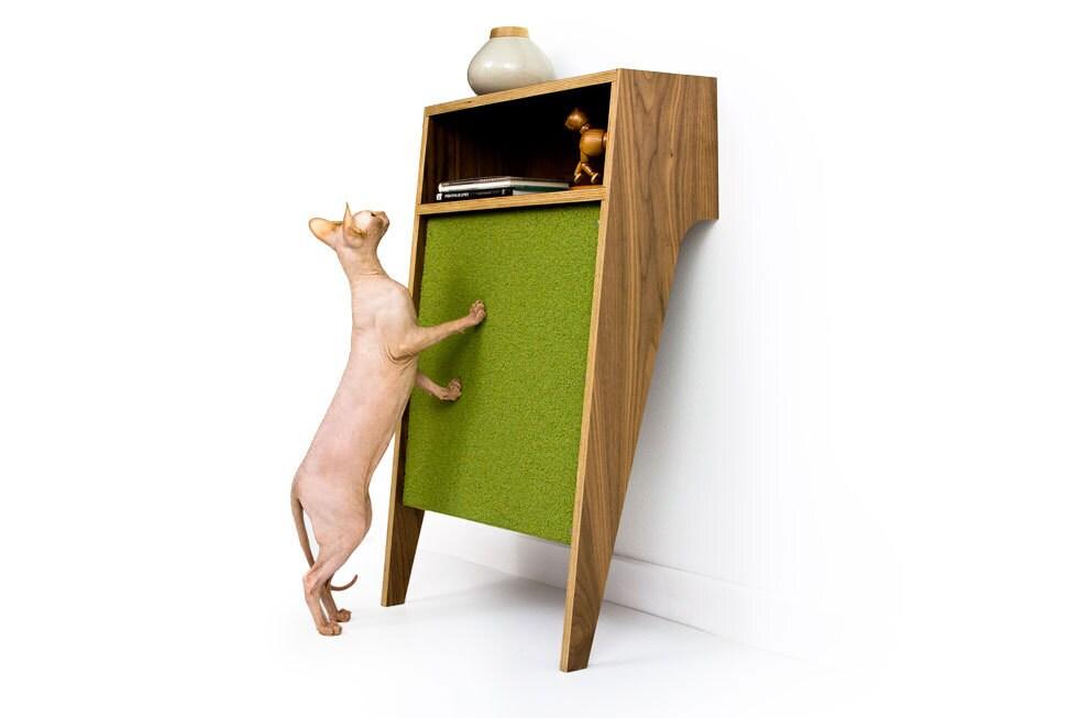 Mid Century Modern Cat Scratcher Modern Cat Furniture Mcm