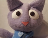 Holiday Handmade Plush Kitty by David Stephens