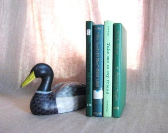 Mixed Greens / Vintage Books in Green