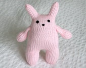 Pink Squishy Bunny