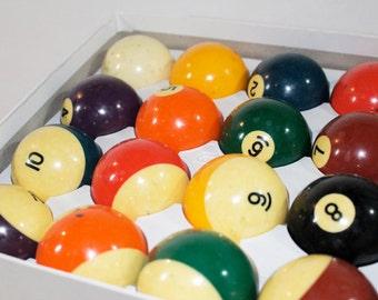 SALE - Aramith Billiard Balls, Pool Balls, Vintage