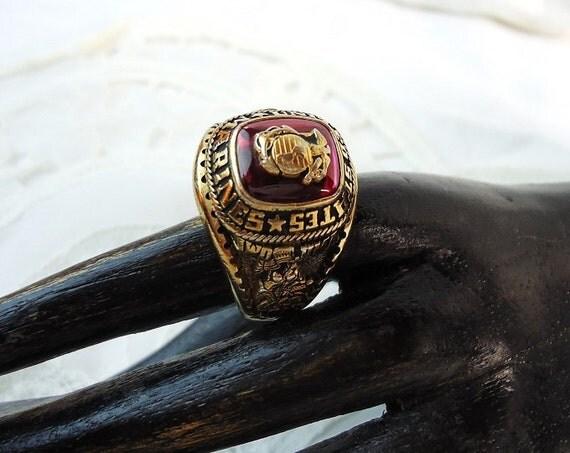 United States Marines Iwo Jima Ring