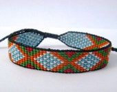Huichol Native American Inspired Multi-Colored, Beaded Friendship Bracelet 103