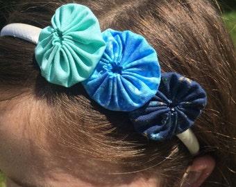Blue YoYo Headband