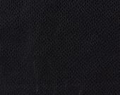Custom Pleated Curtains with Black Geometric Pattern