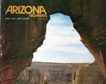 Arizona Highways Magazine April 1973