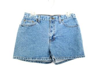 "90's High Rise Denim Shorts size - M waist 30"""