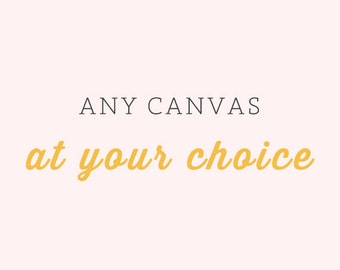 Any Canvas Gallery Wrap - Large Wall Art, Canvas Decor, Nature Canvas, Flower Canvas, Vintage Style Canvas, Landscape Canvas Gallery Wrap