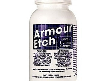 Armour Etch Etching Cream for Glass 22 oz Stained Glass Supplies
