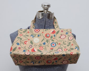 1970's Floral Handbag by Margaret Smith