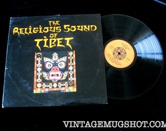 The Religious Sound of TIBET  Vinyl Lp record Album NM- German import