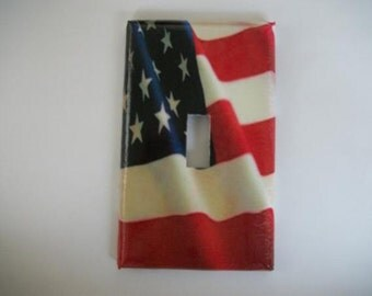 SWITCH PLATE COVER - American Flag
