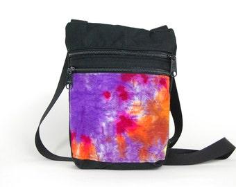CourierWare Tie Dye Zippy Bag