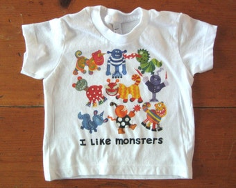 Monsters Baby T-shirt