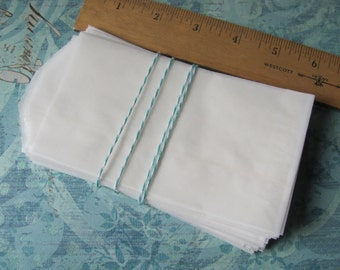"200 Flat Glassine Bags - 3 x 5.5"" - Medium 3 x 5 1/2"" - Treats / Favors - Tall / Long - 3x5 - Translucent Food Safe Packaging - Crafts - 209"