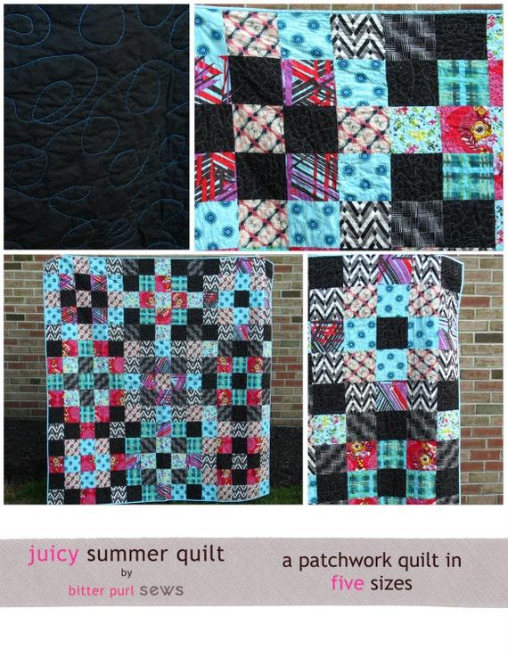 Juicy Summer Quilt Pattern PDF