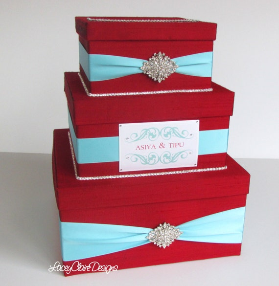 Wedding Card Boxes For Receptions: Wedding Gift Box Card Box Money Holder Envelope Reception