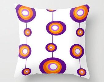 Modern Pillow, Mid Century Modern Throw Pillow, Geometric Pillow, Modern Throw Pillow, Mid Century Modern Cushion, Retro Throw Pillow